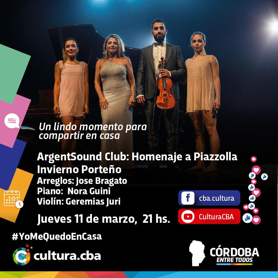 ArgentSound Club: Homenaje a Piazzolla