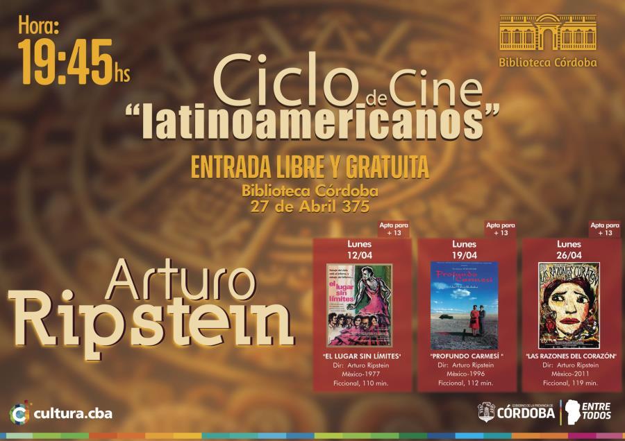 Ciclo de cine latinoamericano:  Arturo Ripstein