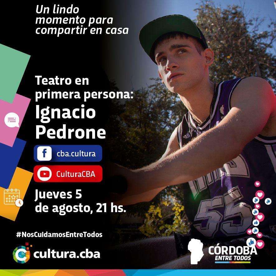 Teatro en primera persona: Ignacio Pedrone