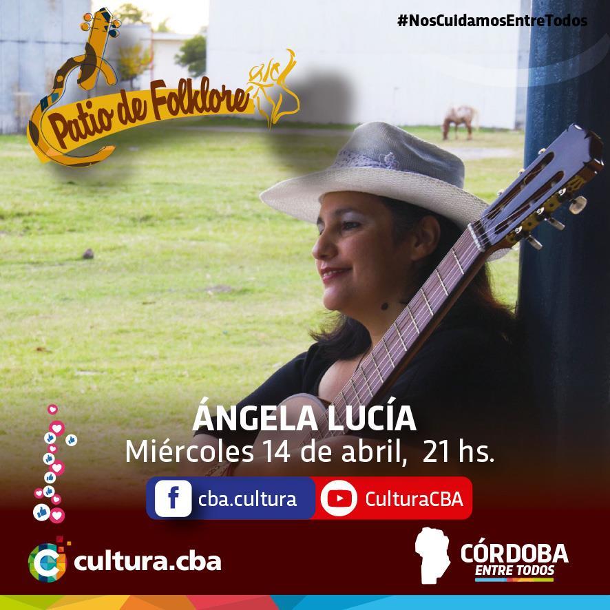 Patio de Folklore: Angela Lucía