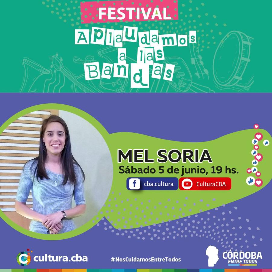 Festival Aplaudamos a las bandas: Mel Soria