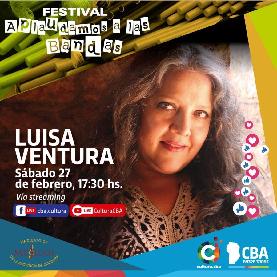 Festival Aplaudamos a las bandas: Luisa Ventura