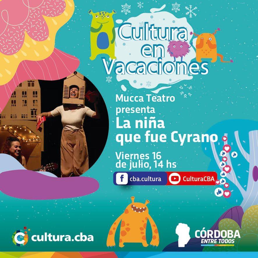 Cultura en vacaciones: La niña que fue Cyrano (Teatro)