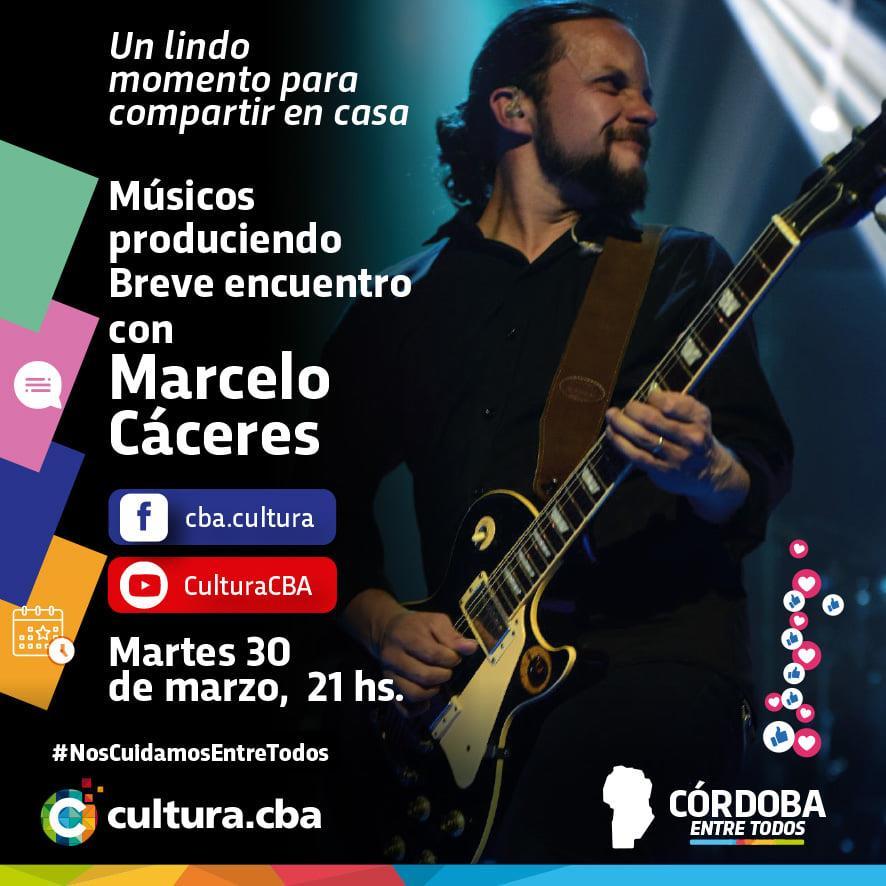 Músicos produciendo: breve encuentro con Marcelo Cáceres