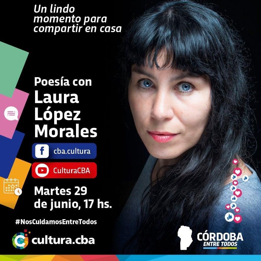 Poesía con Laura López Morales
