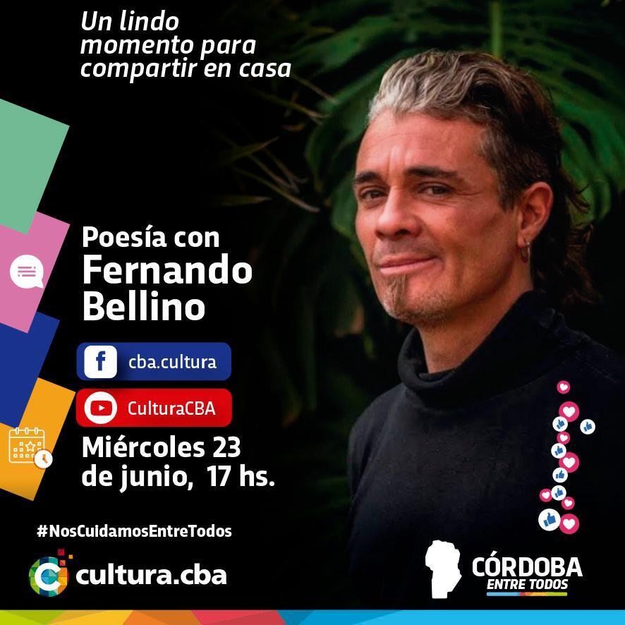 Poesía con Fernando Bellino