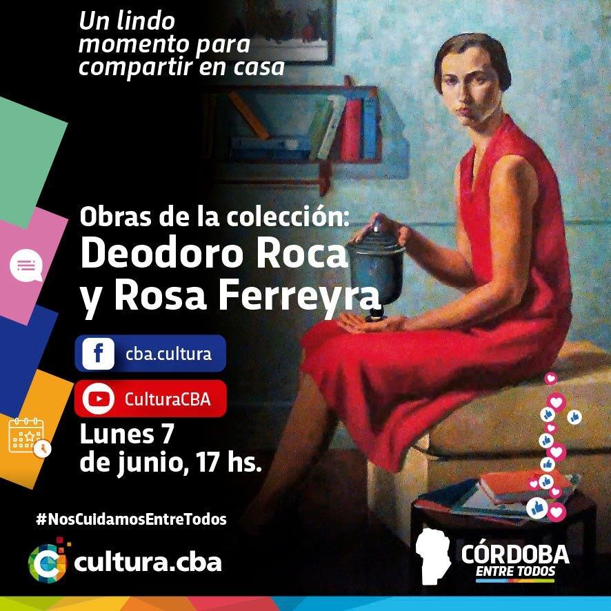 Obras de la colección: Deodoro Roca y Rosa Ferreyra
