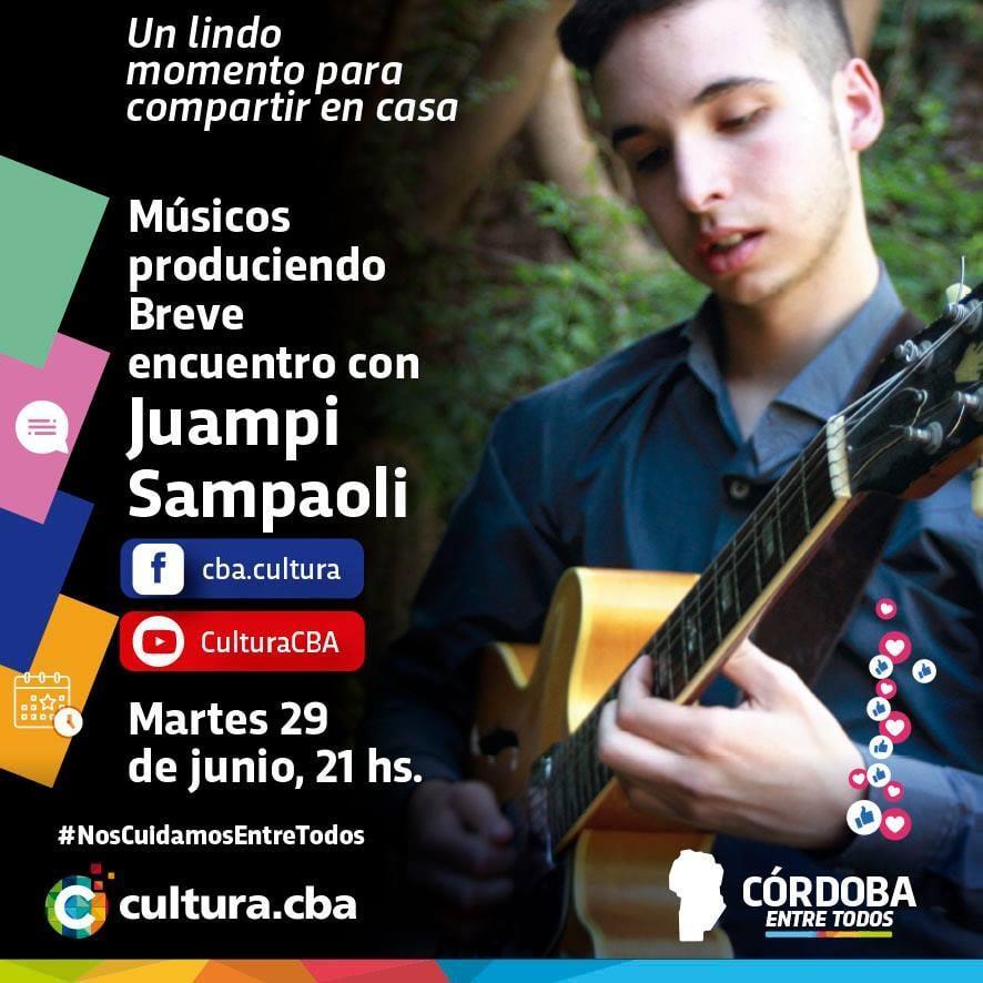Músicos produciendo: breve encuentro con Juampi Sampaoli