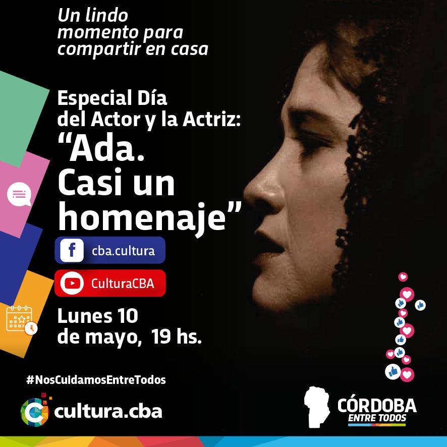 Ada, casi un homenaje - Especial día del actor y la actriz