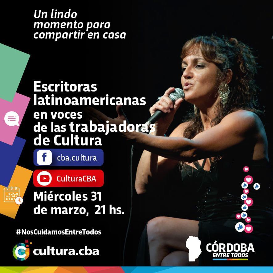 Lectura: Escritoras latinoamericanas en voces de las trabajadoras