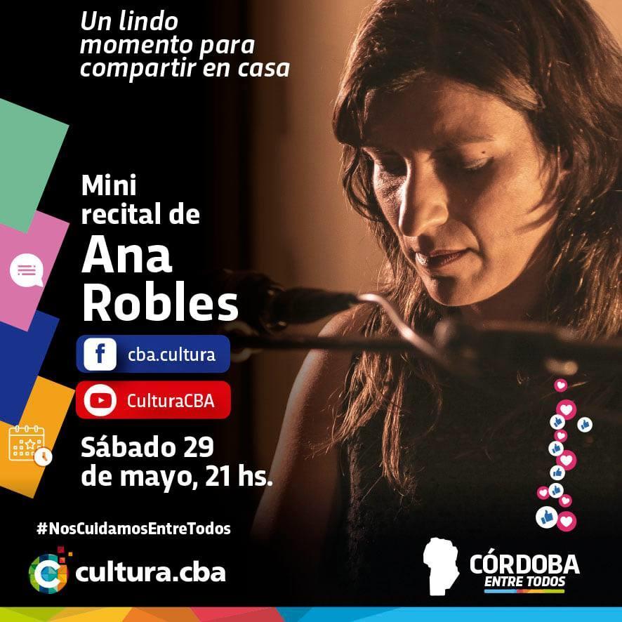 Mini recital de Ana Robles