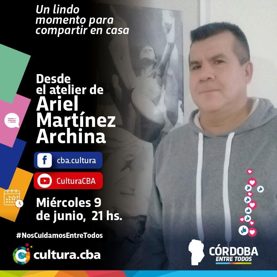 Desde el atelier de Ariel Martínez Archina