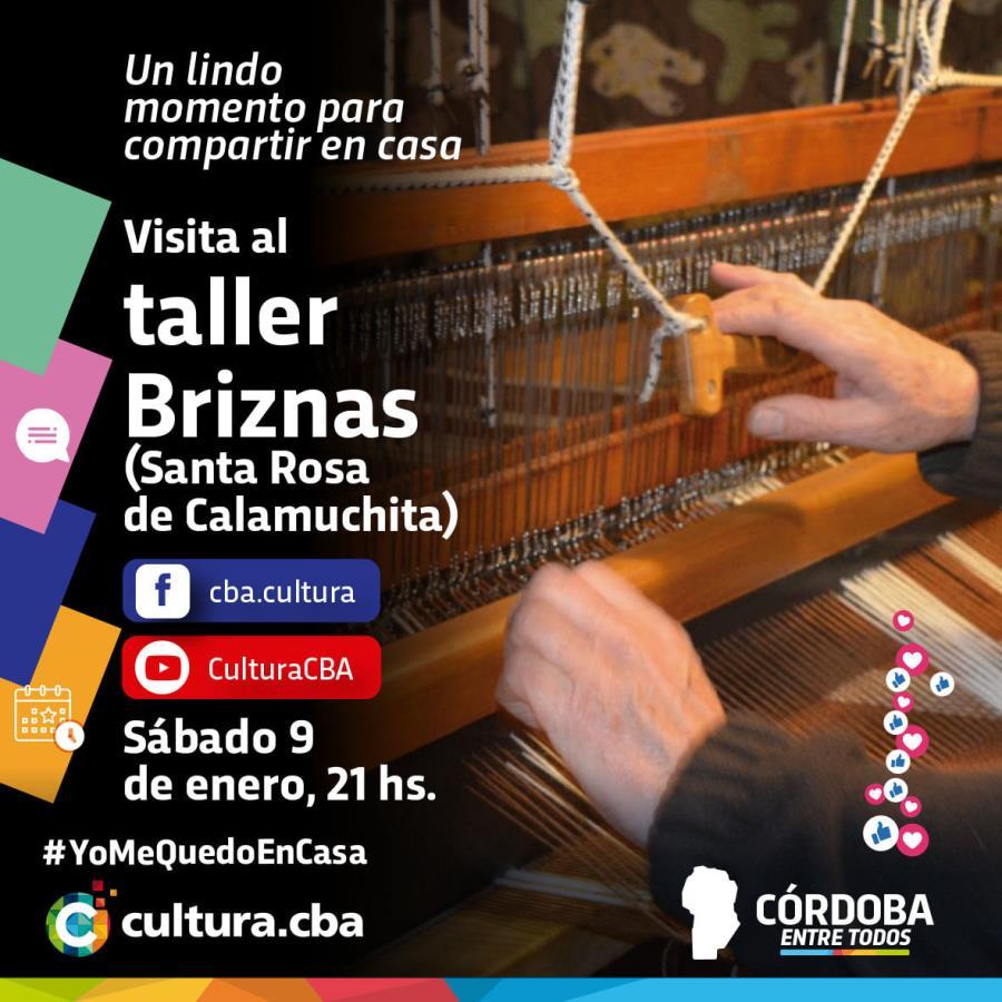Visita al taller Briznas (Santa Rosa de Calamuchita)