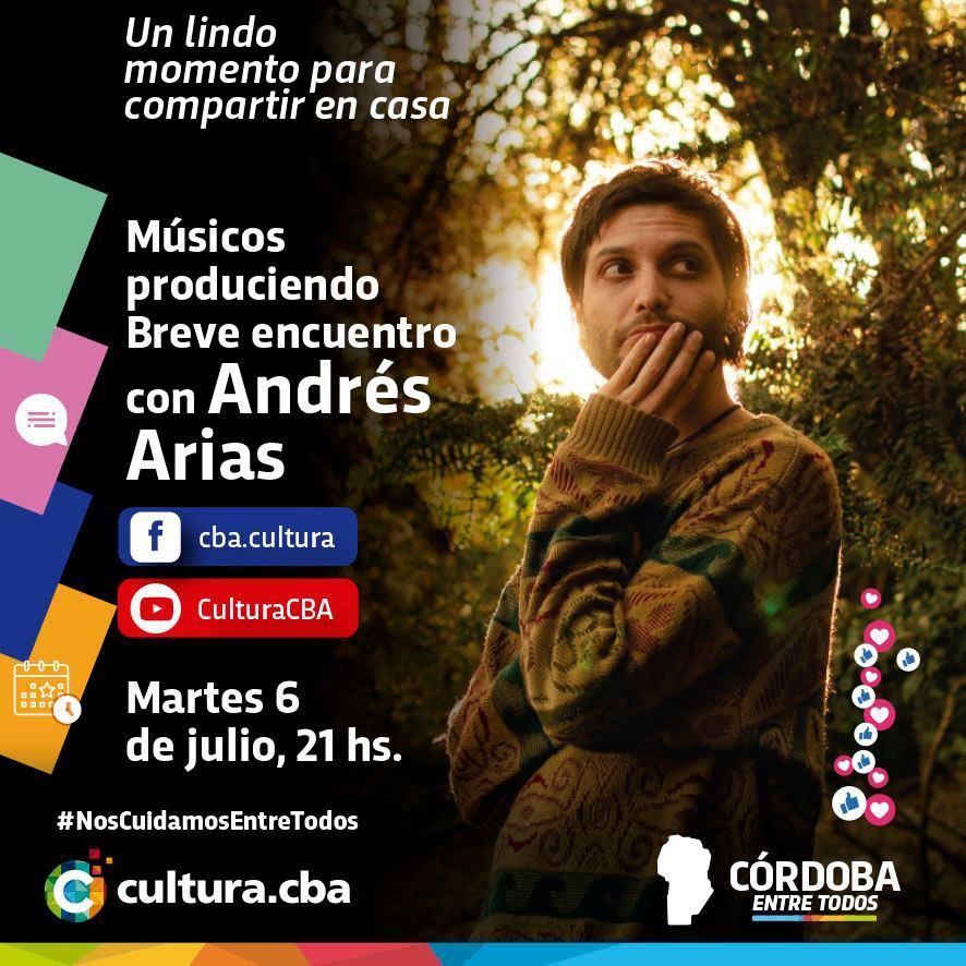 Músicos Produciendo: breve encuentro con Andrés Arias