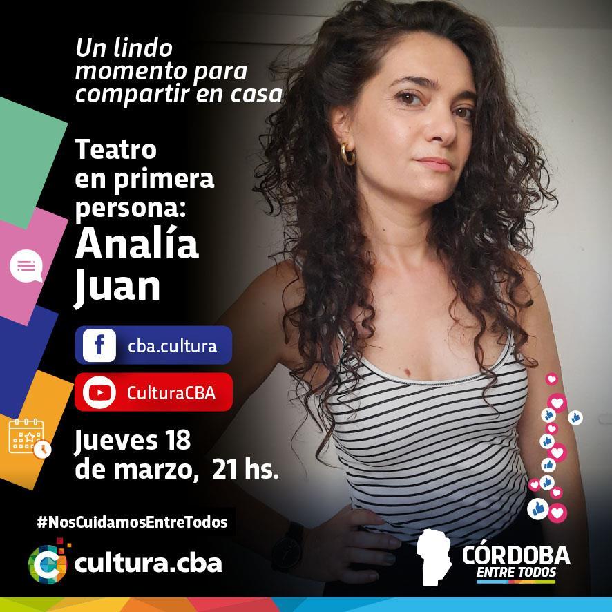 Teatro en primera persona: Analía Juan