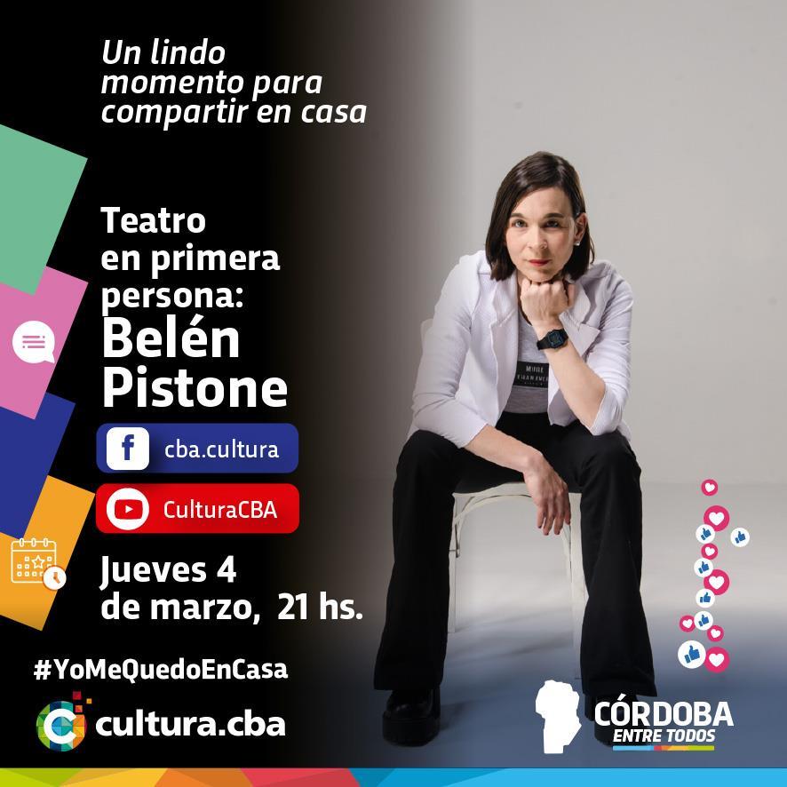 Teatro en primera persona: Belén Pistone
