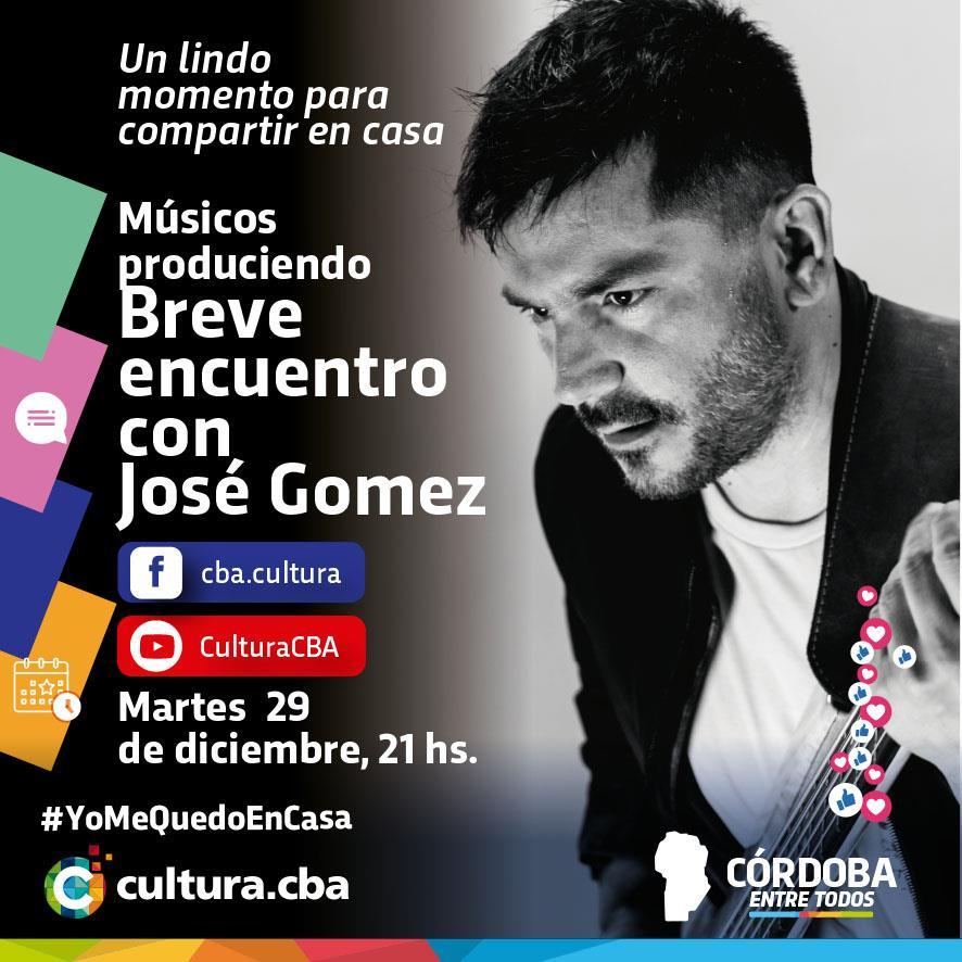 Músicos produciendo: José Gómez