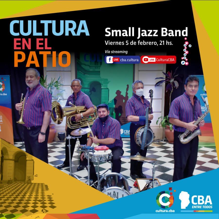 Cultura en el Patio: Small Jazz Band