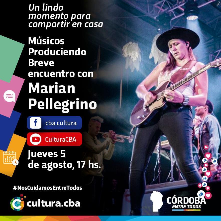 Músicos produciendo: breve encuentro con Marian Pellegrino