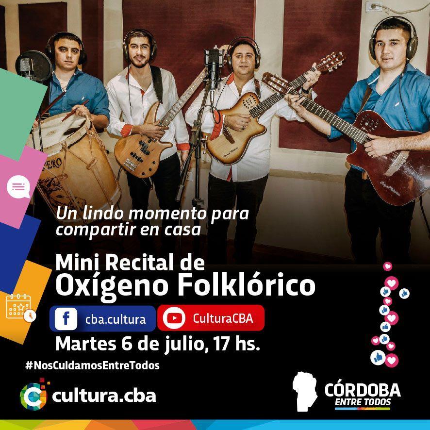 Mini recital de Oxígeno Folklórico (Departamento Minas)