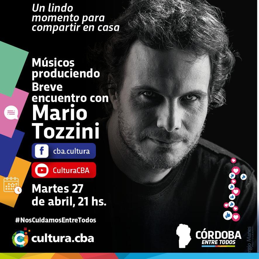 Músicos produciendo: breve encuentro con Mario Tozzini