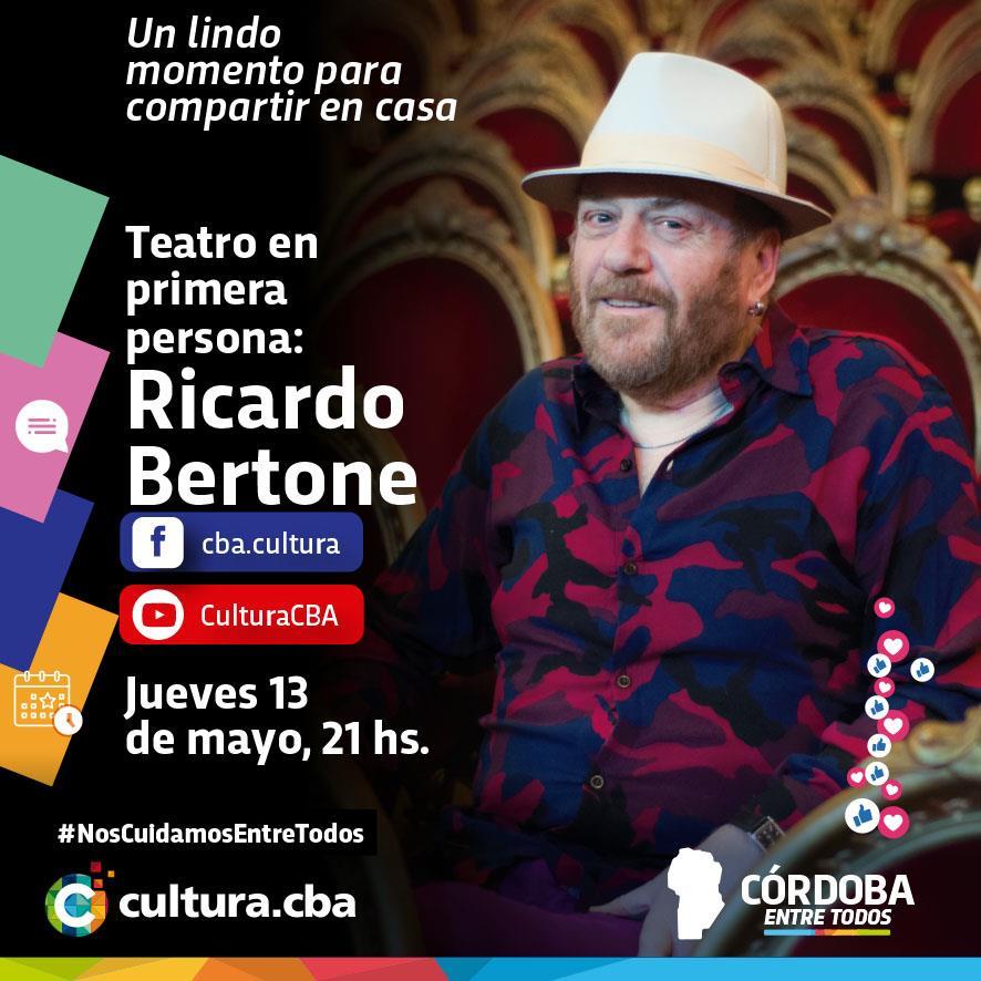 Teatro en primera persona: Ricardo Bertone