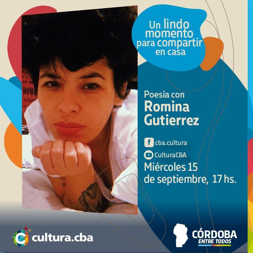 Poesía con Romina Gutiérrez