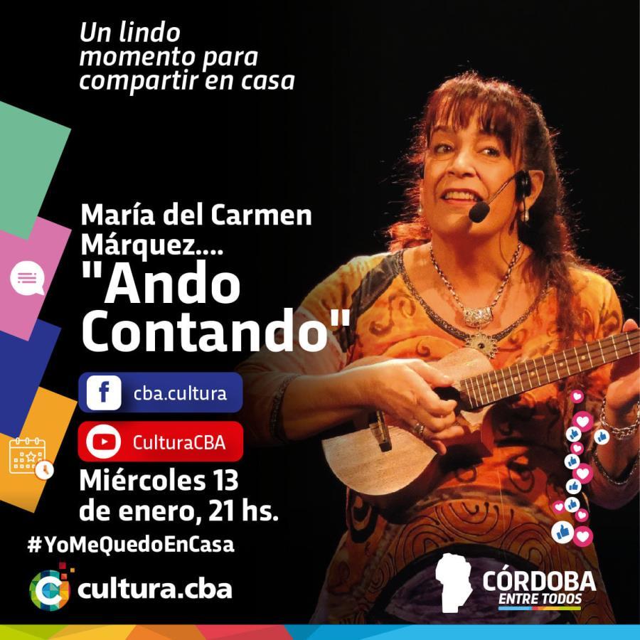 """Maria Del Carmen Marquez """"Ando Contando"""""""