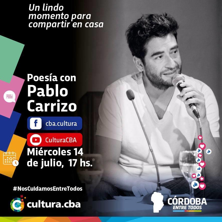 Poesía con Pablo Carrizo