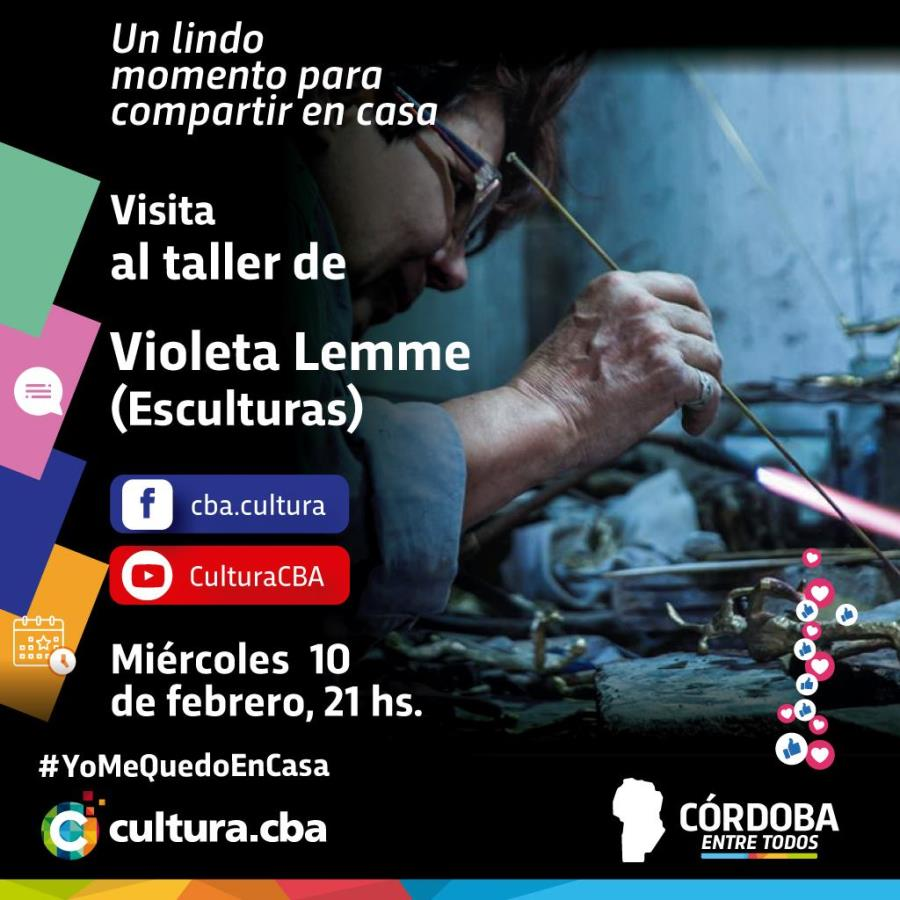 Visita al taller de Violeta Lemme