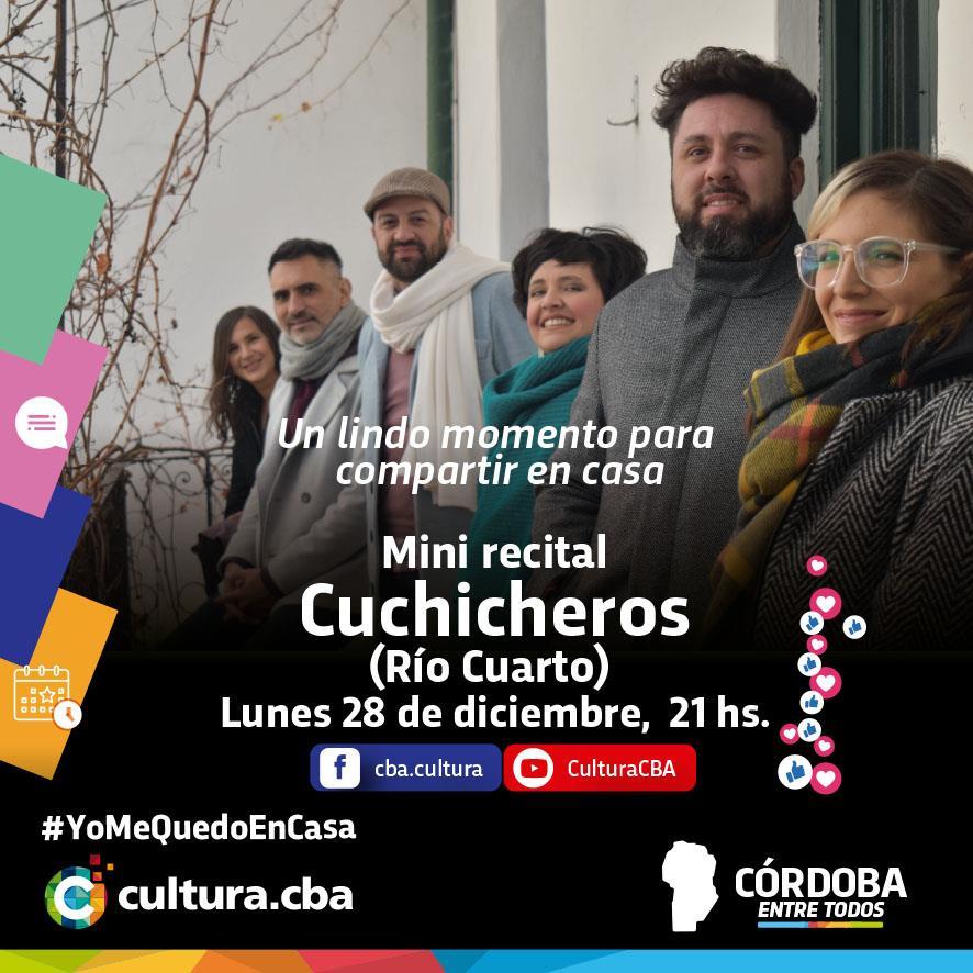 Mini recital de Cuchicheros (Río Cuarto)