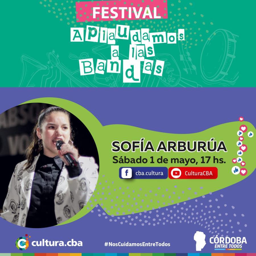 Sofía Arburúa - Festival Aplaudamos a las bandas