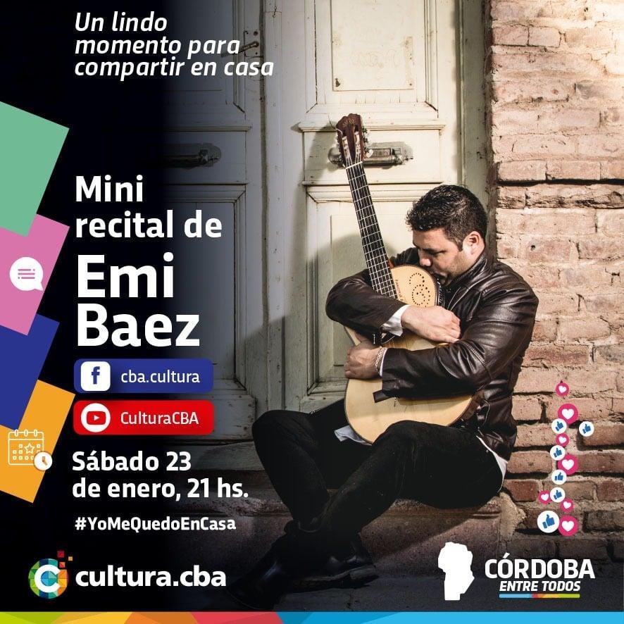 Mini recital de Emi Báez