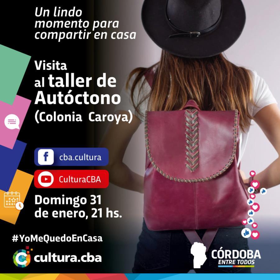 Visita al taller de Autóctono (Colonia Caroya)