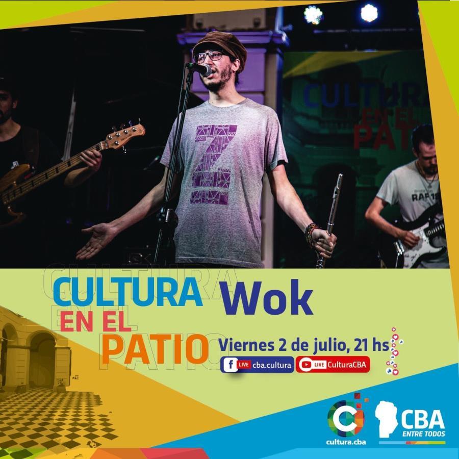 Cultura en el patio: Wok