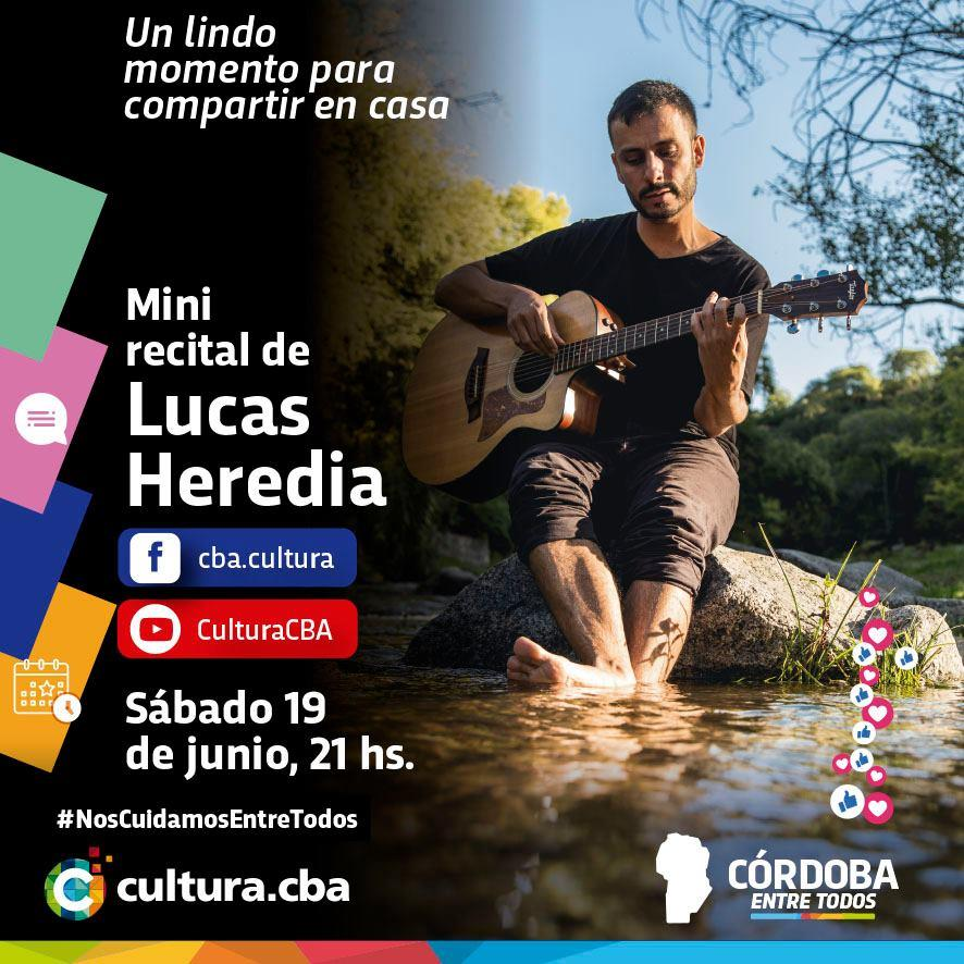 Mini recital de Lucas Heredia