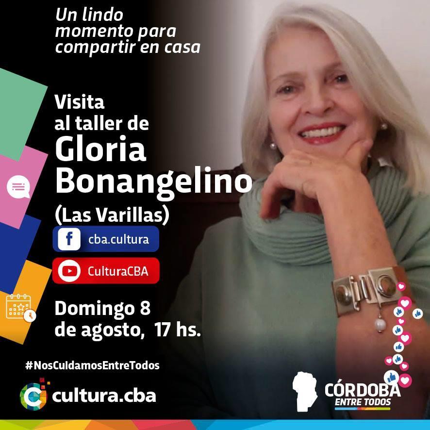 Visita al taller de Gloria Bonangelino (Las Varillas)