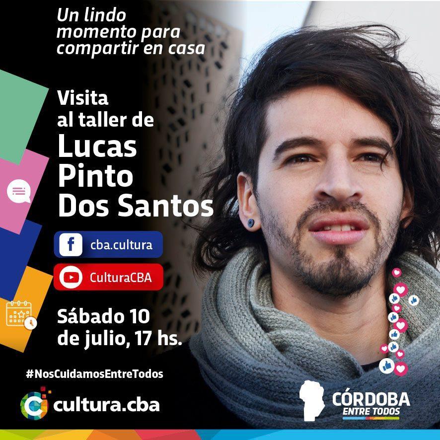 Visita al taller de Lucas Pinto dos Santos
