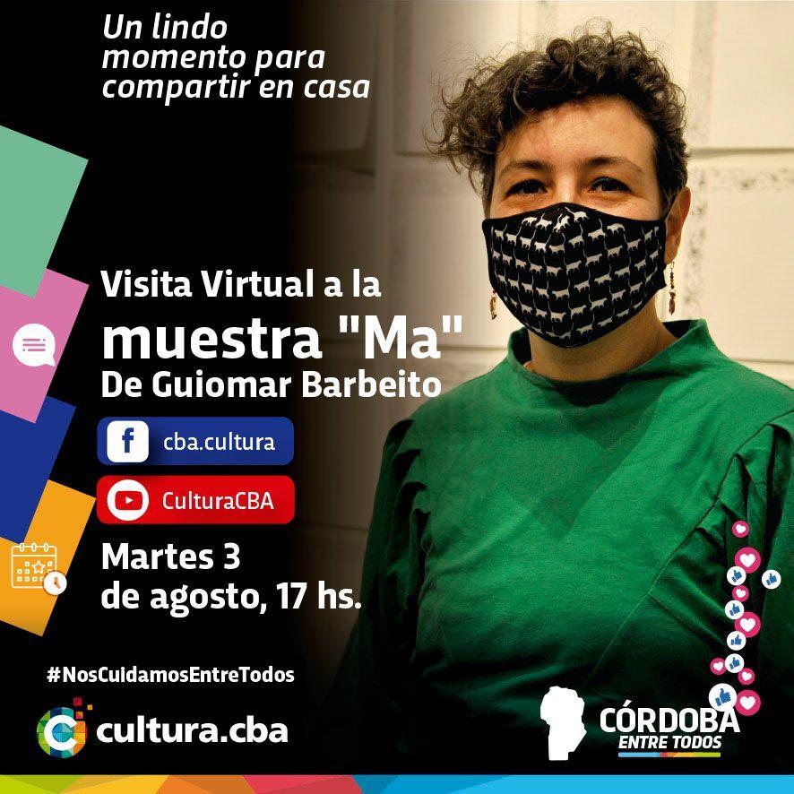Visita Virtual a la muestra Ma de Guiomar Barbeito