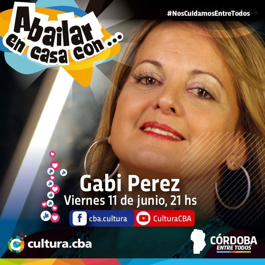 A bailar en casa con Gabi Pérez