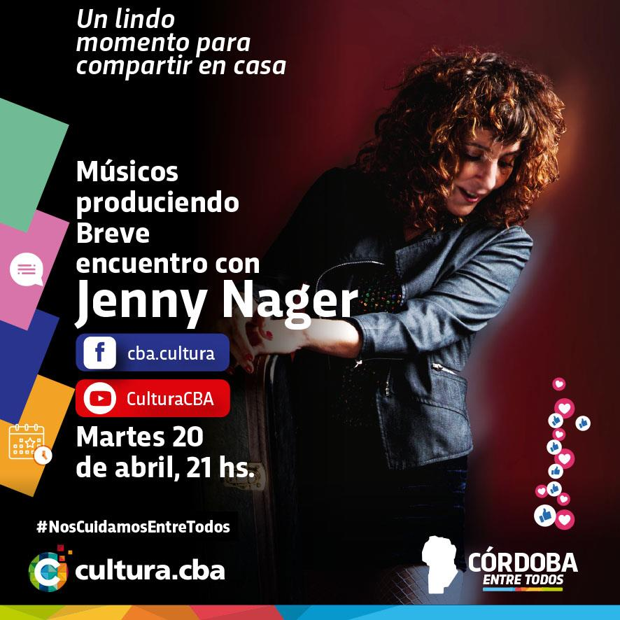 Músicos produciendo: breve encuentro con Jenny Nager
