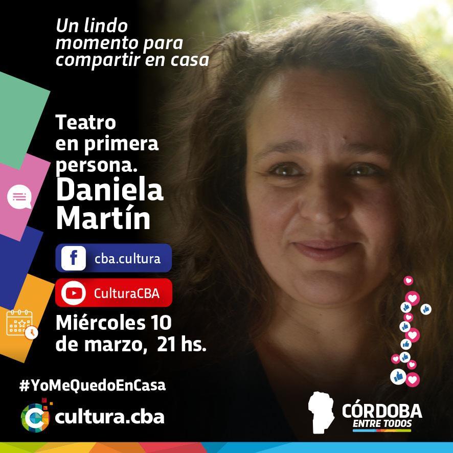 Teatro en primera persona: Daniela Martín