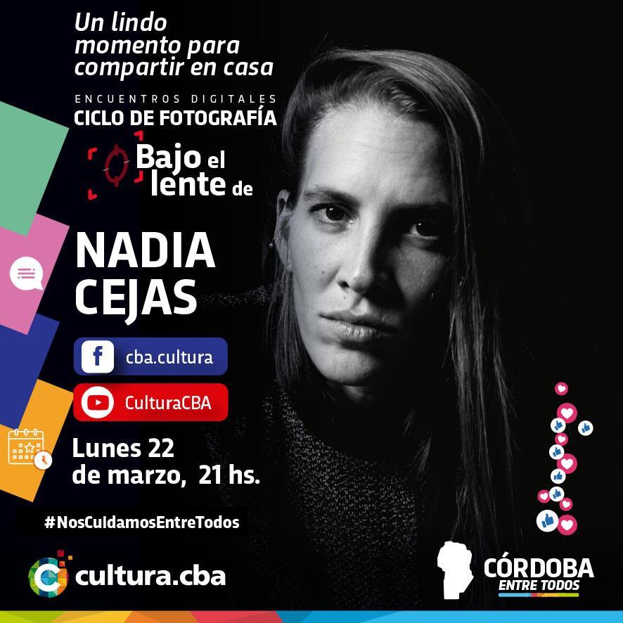 Bajo el lente de Nadia Cejas – Contacto