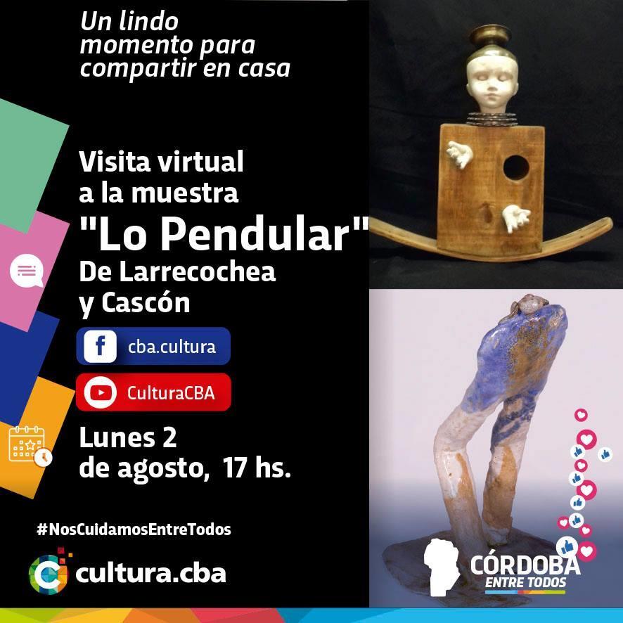 Visita virtual a la muestra Lo Pendular