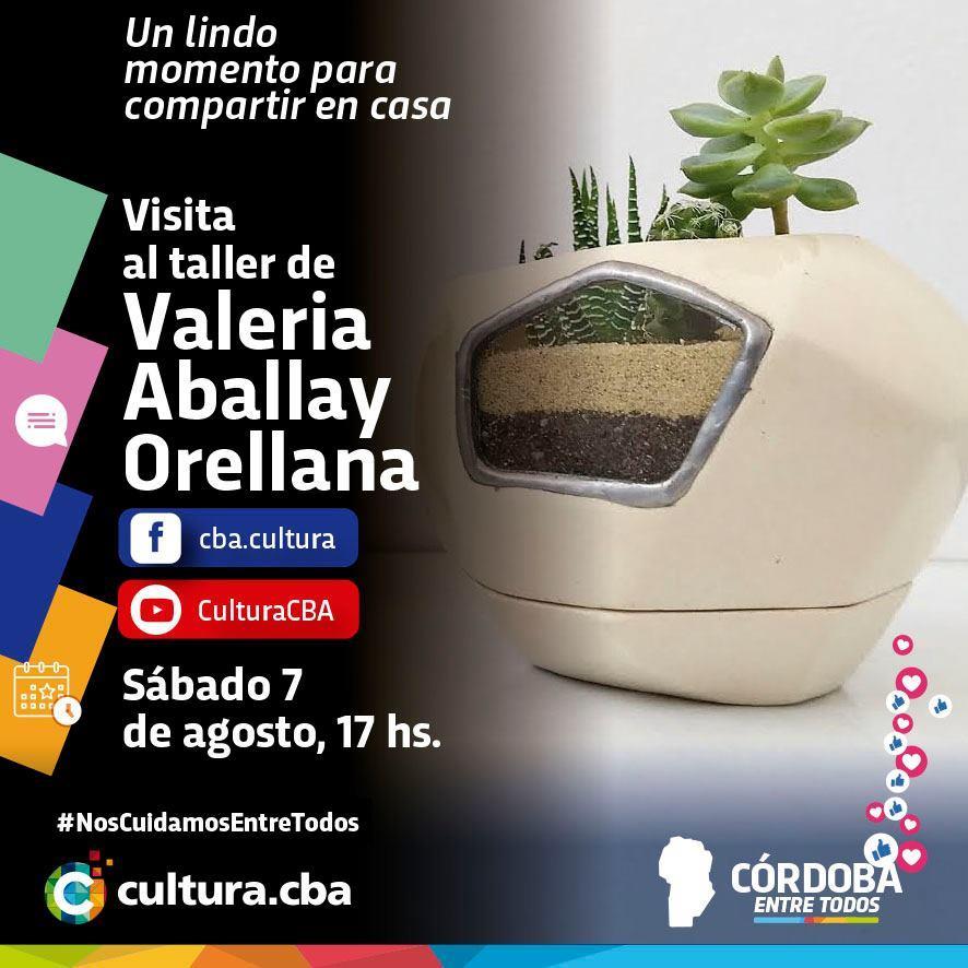Visita al taller de Valeria Aballay Orellana
