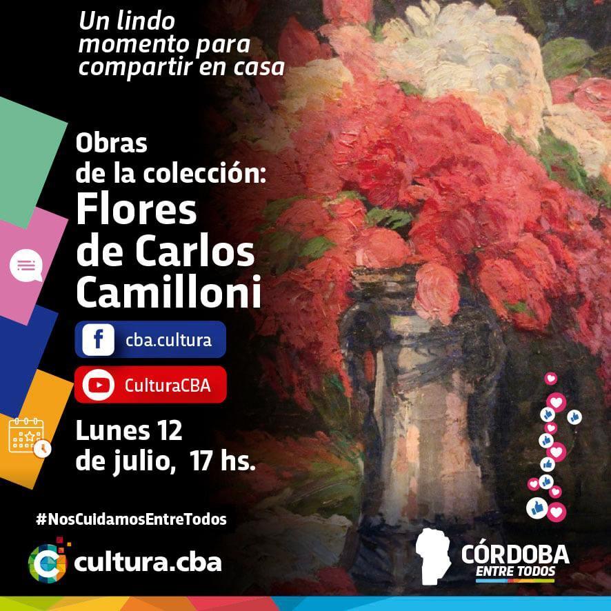 Obras de la colección: Flores de Carlos Camilloni