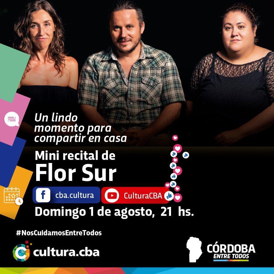 Mini recital de Flor Sur