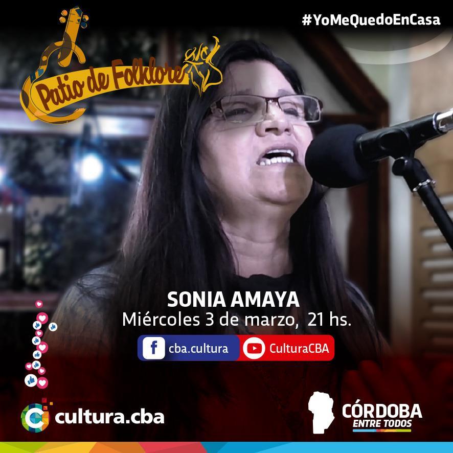 Patio de Folklore: Sonia Amaya