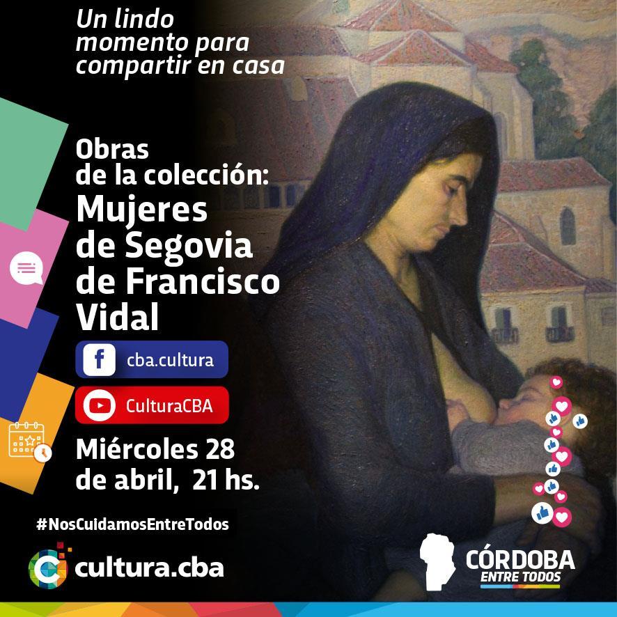 """Obras de la colección """"Mujeres de Segovia"""" de Francisco Vidal"""