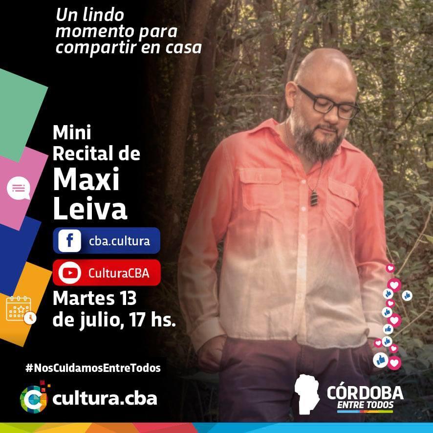 Mini recital de Maxi Leiva